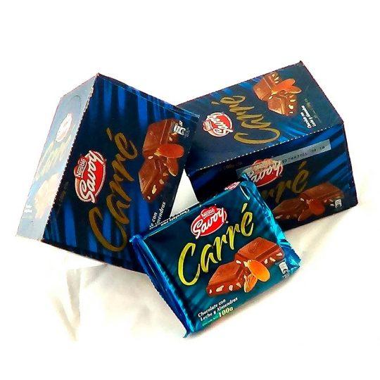 chocolate-savoy-carre-100gr-caja-10-unid